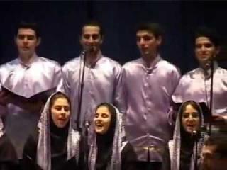 IRAN , Music Azari : Arshin Malalan.University of Tabriz