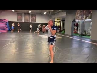 Тренировка александра шлеменко