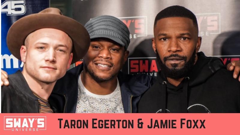 Jamie Foxx and Taron Egerton Talk New 'Robin Hood' Movie