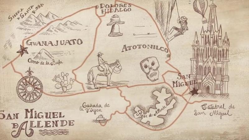 Гуанахуато и Сан Мигель де Альенде