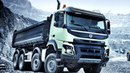 Volvo FMX 500 84 rigid Day cab with Meiller tipper body 2013