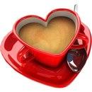 """Чашка кофе, кофе, чашка, сердце.  Предпросмотр схемы вышивки  """"Чашка кофе """" ."""