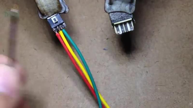 Своими руками- USB-кабель