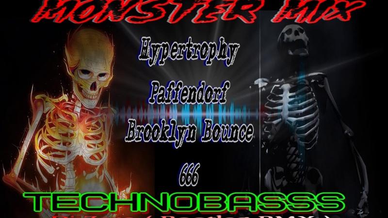MonsterMix techno ( 134.9 bpm Dance Club Dj Zero RmX )