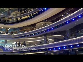 MSC Seaview - Cruise ship tour