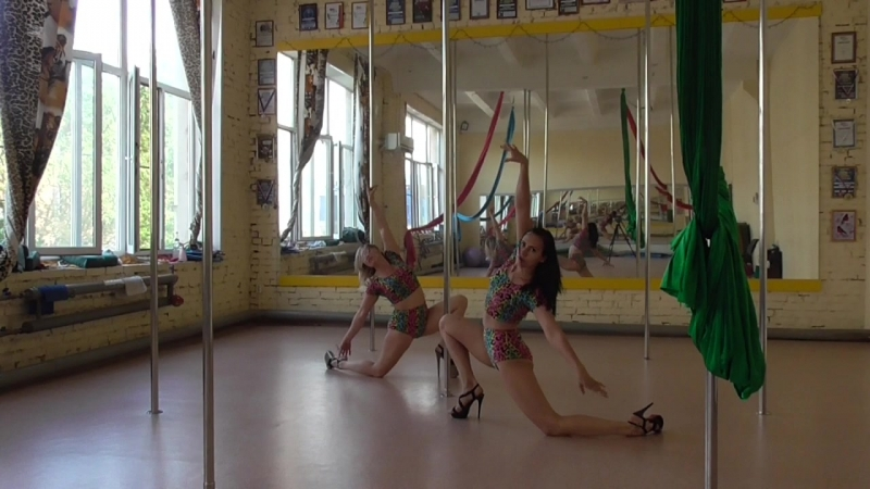 PoleDance choreography СТС Пантера