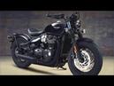 2018 New Triumph Bonneville Bobber Black Edition
