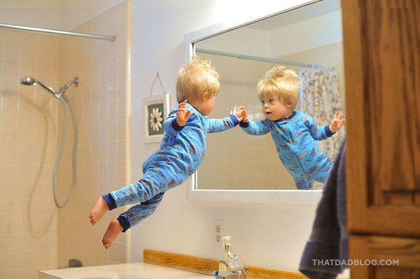 Отец сделал вдохновляющую серию снимков для сына с синдромом Дауна: ↪ И я хочу пожать ему руку.