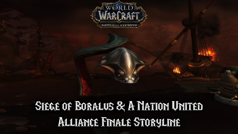 Siege of Boralus A Nation United Alliance Finale Storyline Battle for Azeroth