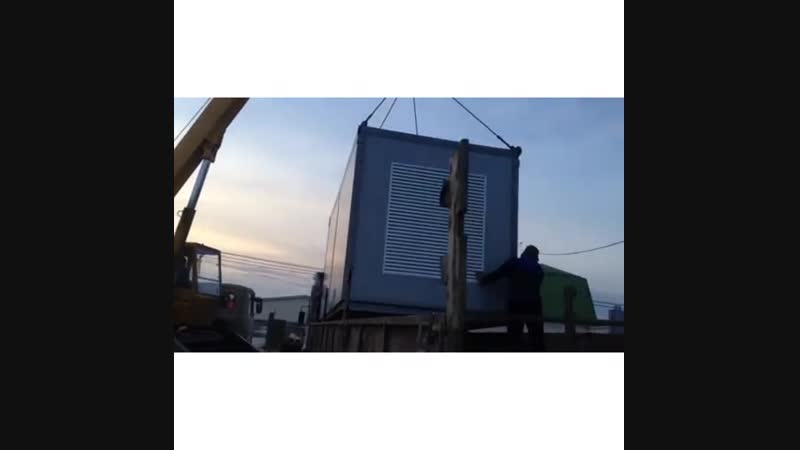 Поставка дизельного генератора 600 кВт с корейским двигателям Doosan для офисного здания в Ростов-на-Дону. Более подробный обзо