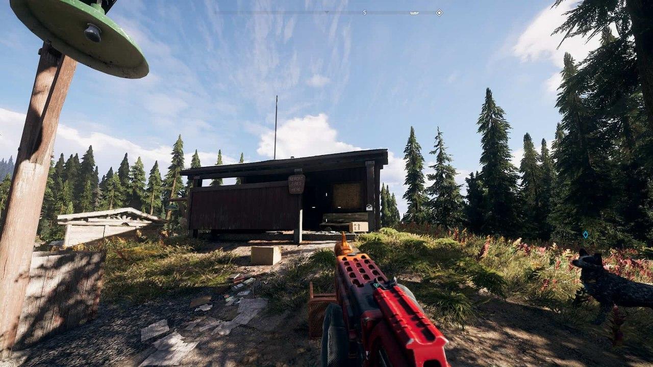 Ящики с виниловыми пластинками в Far Cry 5
