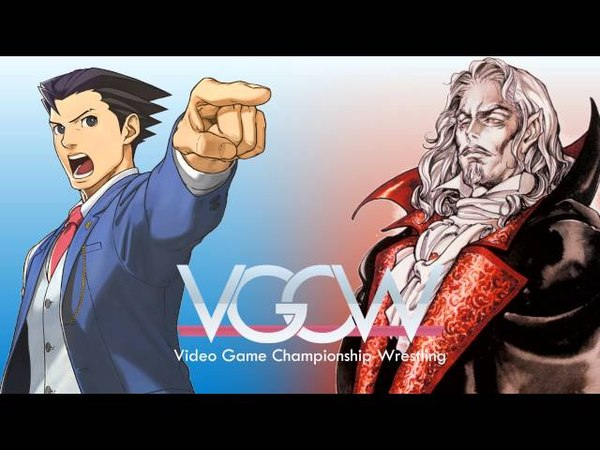 Wright VS Night ~ Ace Attorney Castlevania Mash Up Medley