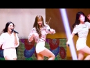 · Fancam · 180818 · OH MY GIRL (YooA focus) - Windy Day · DRUMEX Concert ·