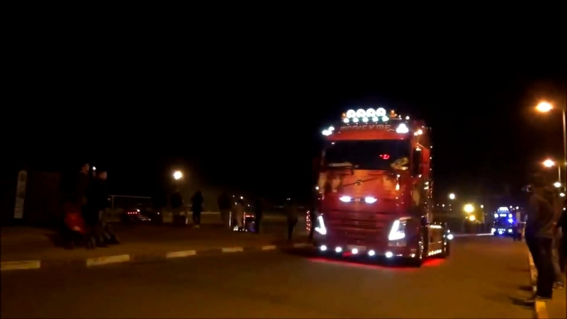 Most trucks at the 24h Camions Le Mans after truck parade