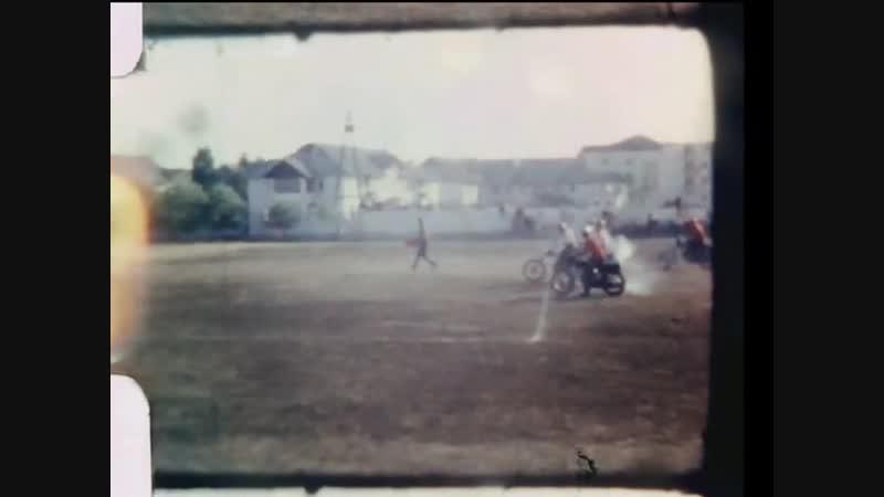 Игра в мотобол. Феодосия, 1965 год.