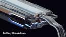 Nvidia Metropia 2042 Vehicle Battery Breakdown - Maya concept design and Modelling