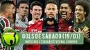 Gols deste Sábado 19 01 Início dos Estaduais e Futebol Europeu 60fps