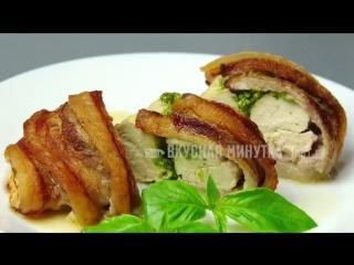 Новогодний стол МЯСНЫЕ блюда – 5 простых рецептов(описание под видео)