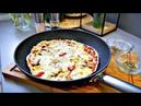 Pizza Palačinke / Pizza iz tave, tignja / Pizzapfannkuchen
