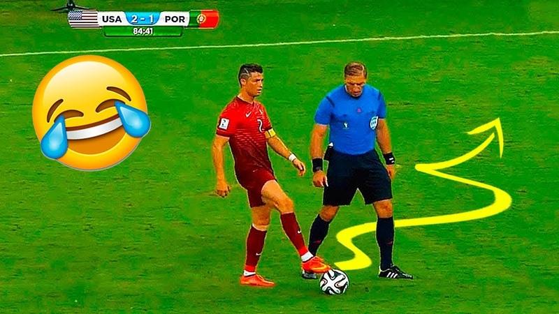 Funny Soccer Football Vines 2018 ● Goals l Skills l Fails 74