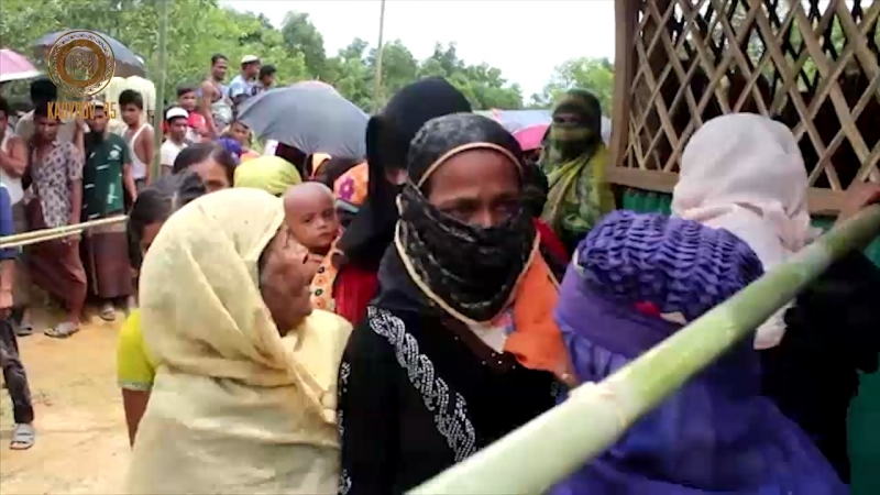 РОФ А-Х.Кадырова провел благотворительную акцию в лагере беженцев из Мьянмы.