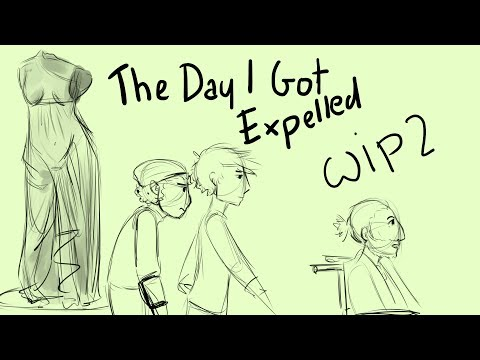 The Day I Got Expelled | FAN MADE ANIMATIC | The Lightning Thief: The Percy Jackson Musical | WIP 2
