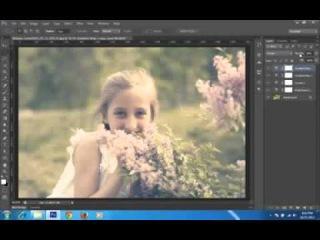 Photoshop CS6 Tutorial Soft Light Photo Effect Part 2 HD\\pkj