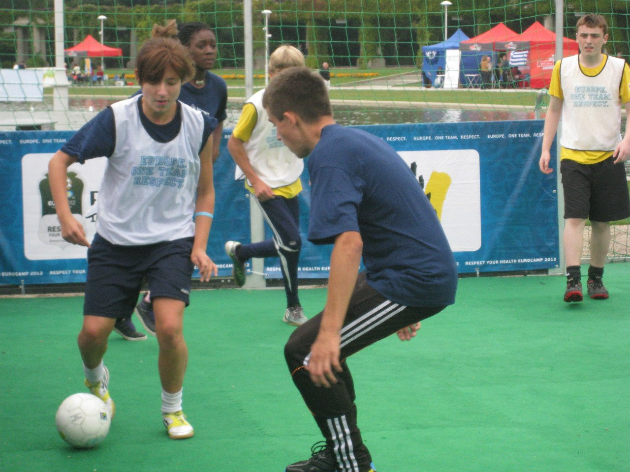 Беличанка, Коцюбинське, EUROCAMP 2012, streetfootballworld, Poland, uefa, Euro 2012, Біличанка, RESPECT your HEALTH, Wroclaw