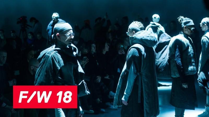 Boris Bidjan Saberi Fall/Winter 2018.19   PFW   Paris Prêt-à-porter Homme