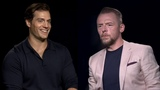 Henry Cavill &amp Simon Pegg 'Mission Impossible - Fallout' interview with Rebecca Ferguson