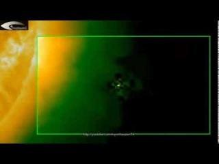 Обзор активности НЛО возле Солнца на снимках НАСА за 22 ноября 2013