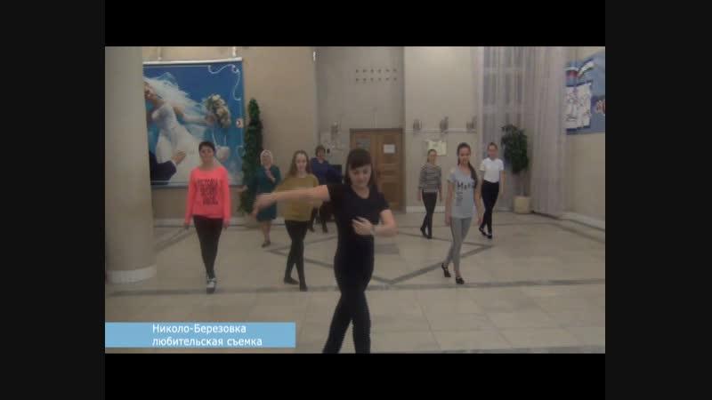 Жители Николо Березовки станцевали на Ночи искусств