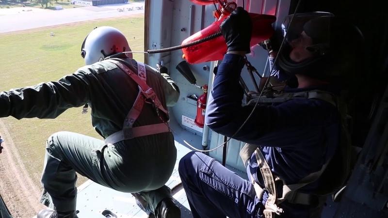 Учение «БАРС-2018» cпасение условно потерпевших бедствие