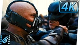 Batman vs Bane Final Fight The Dark Knight Rises (2012) Movie Clip