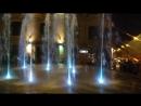 Поющие фонтаны. Москва. Красная площадь.