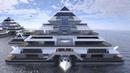 Проект жилых плавающих пирамид
