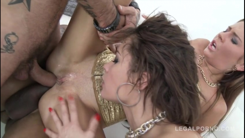 Nikita Belucci Timea Bella in double anal foursome SZ970 (480)