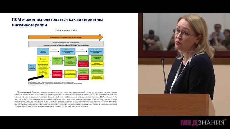 04 Особенности препаратов сульфонилмочевины третьего поколения Преимущества для врача и пациента
