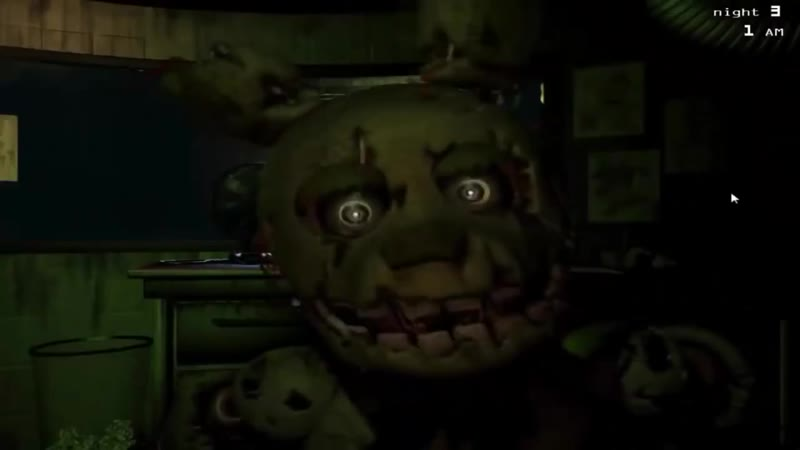 Five Nights at Freddy's 3: Jumpscares Remix Sparta