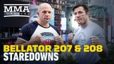 Bellator 207, 208 Workout Staredowns - MMA Fighting