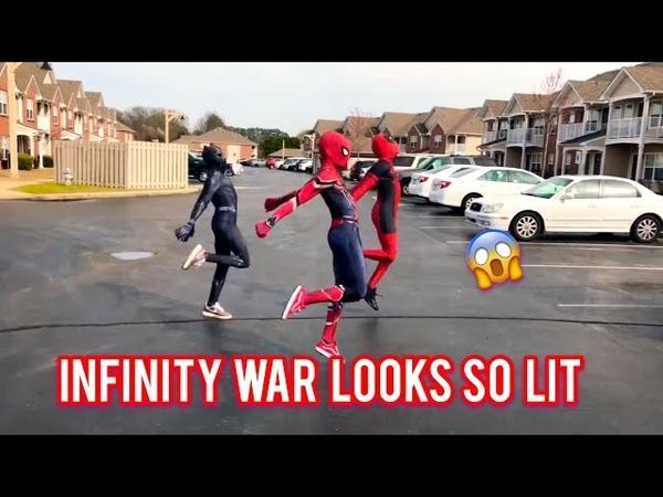Ghetto Avengers Dj Casper Cha Cha Slide | @ghetto.spider @ghetto.panther @ghetto.deadpool |
