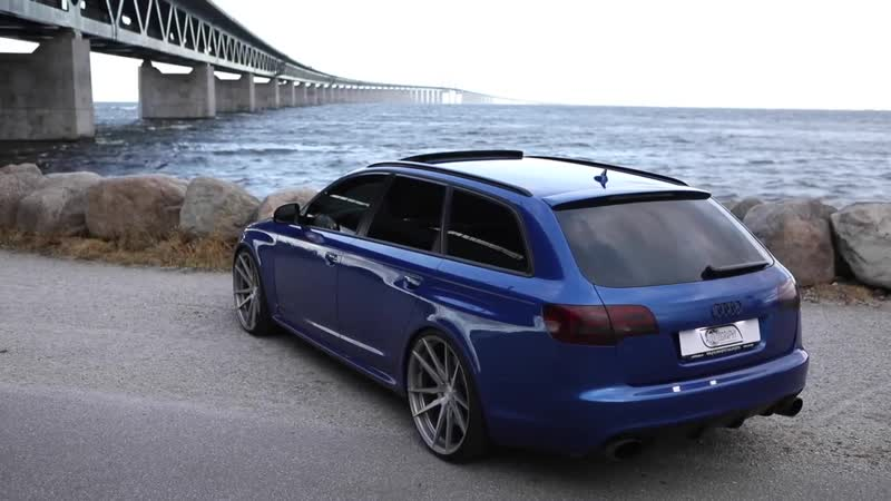 WHEN AUDI WENT TOTALLY CRAZY - The V10 TWINTURBO legendary AUDI RS6 C6 AVANT - 700hp_800Nm