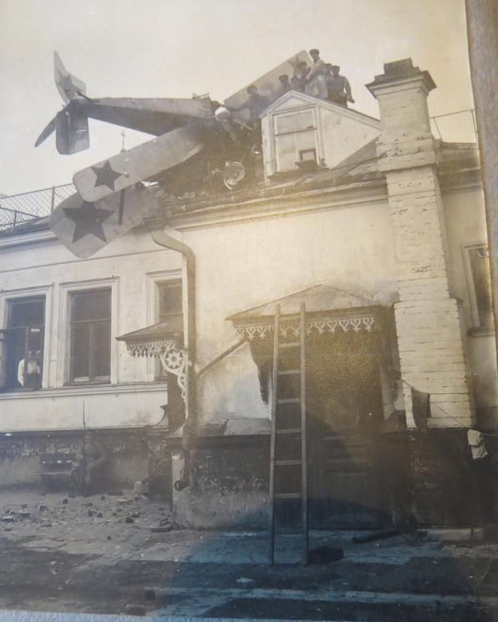 Аварийная посадка, Витебск, 1920 год.