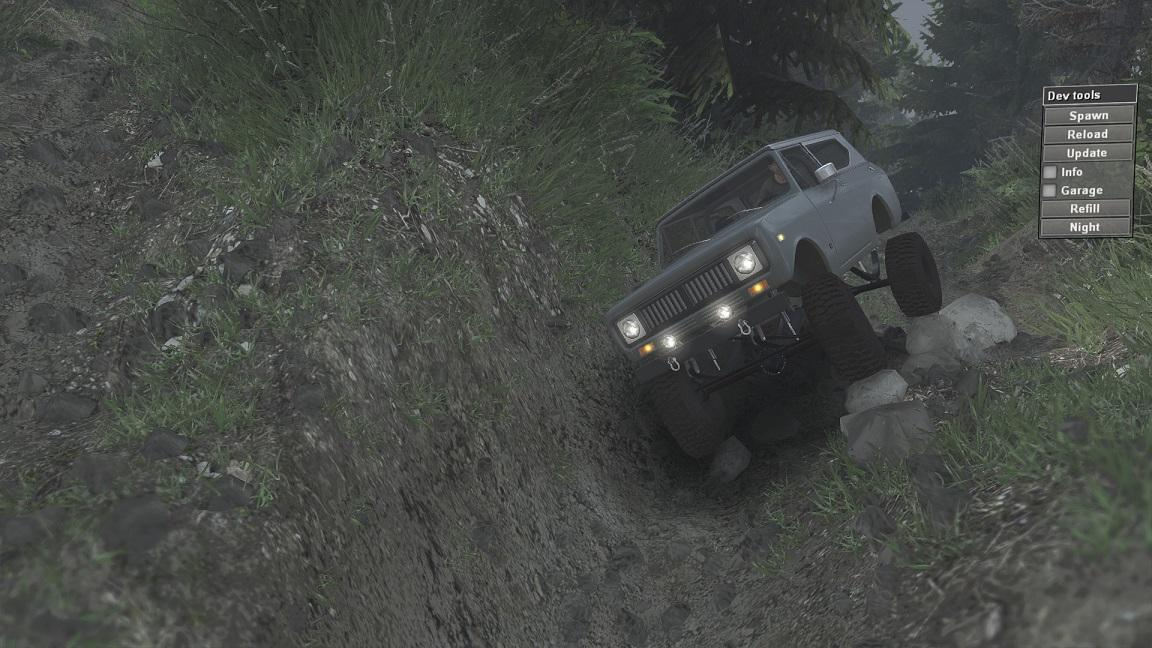 SID 1977 International Scout II для 23.10.15 и 08.11.15 для Spintires - Скриншот 2