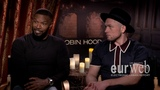 Jamie Foxx and Taron Egerton Talk Love, musical ties and stunts