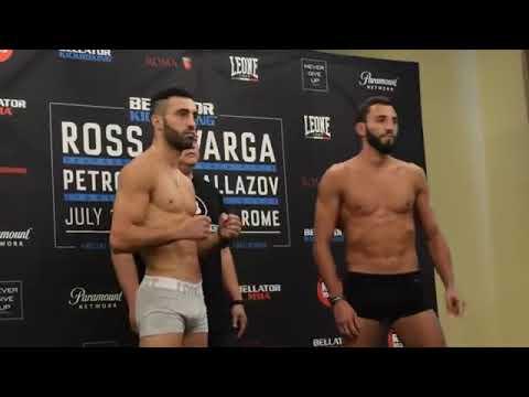 Bellator Kickboxing : Giorgio Petrosyan vs Chingiz Allazov face to face