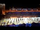 Фестиваль Спасская Башня.Танцуют музыканты-суворовцы.
