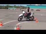 Соревнование на лучшее вождение мотоцикла. 18 мая 2014 г.