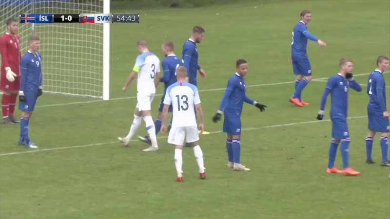 Iceland U21 vs Slovakia U21 (11.09.2018) ★ SECOND HALF