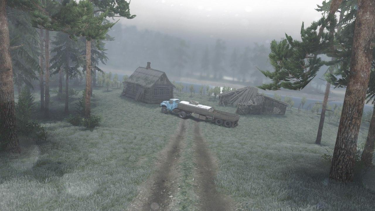 "Карта ""level_Luchesa"" для 25.12.15 для Spintires - Скриншот 3"